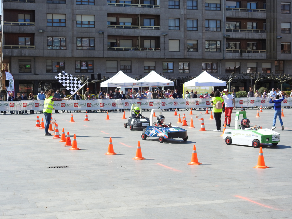 Carrera Greenpower en Las Arenas