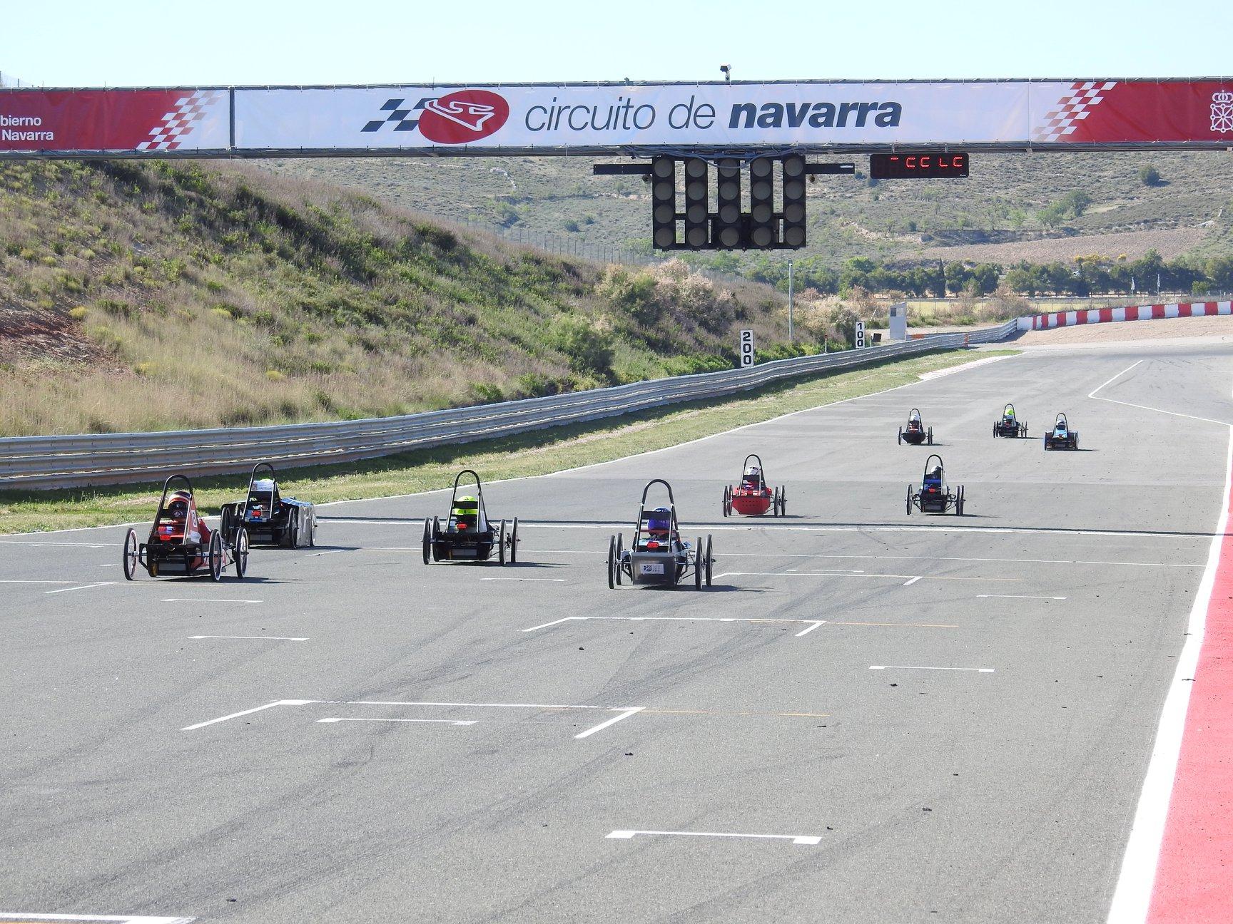 Triunfo en el Circuito de Navarra