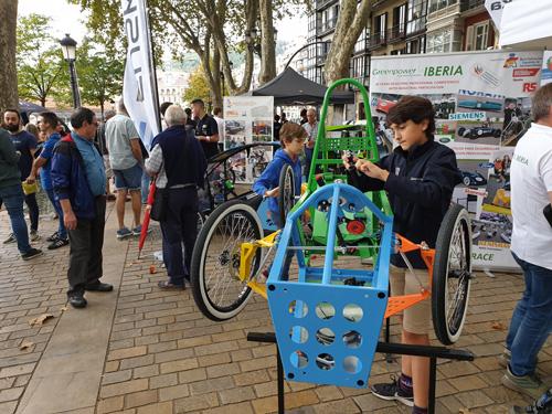 Presentación de Greenpower en el Eco Rallye Bilbao